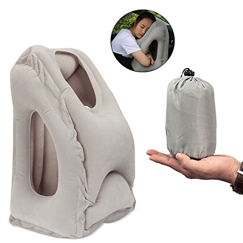 Inflatable Travel Pillow Koncle Airplane Pillow