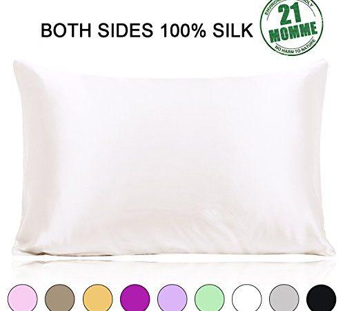 Ravmix Silk Pillowcase For Hair And Skin Both Sides 21