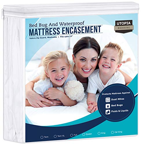 Zippered Pillow Cases Standard Mastertex Guardmax 12